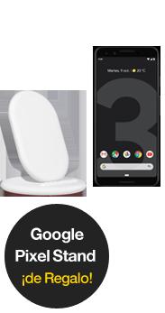 Google Pixel 3 negro + Google Stand