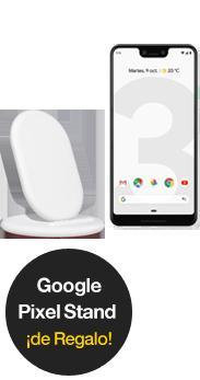Google Pixel 3 XL blanco + Google Stand