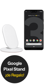 Google Pixel 3 XL negro + Google Stand