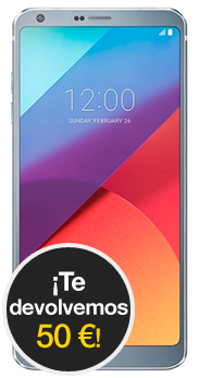 LG G6 Ice Platinum
