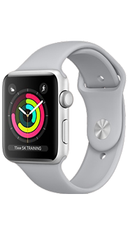 Apple Watc Series 3 GPS 42mm plata