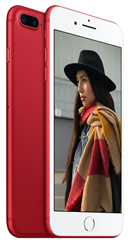 Apple iPhone 7 128GB rojo - edicion especial