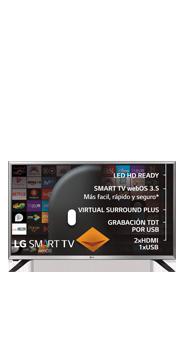 Televisor LG 32 Smart TV LJ590V negro