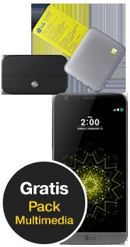 LG G5 SE negro pack multimedia