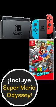 Nintendo Switch + Super Mario Odissey