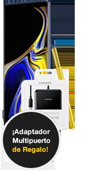 Samsung Galaxy Note9 512 GB Azul + Adaptador Multipuerto