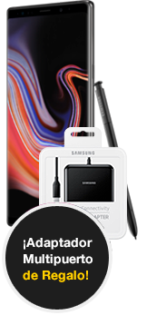 Samsung Galaxy Note9 128 GB negro + Adaptador Mutipuerto