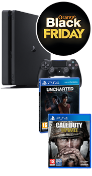 Sony PlayStation 4 Slim 500 GB + COD WWII + Uncharted El legado perdido