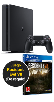 PlayStation 4 Slim 1 TB + Resident Evil VII: Biohazard