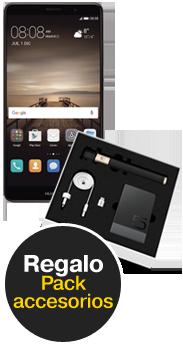 Huawei Mate 9 negro + Pack Accesorios