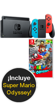 Nintendo Switch + Super Mario Odissey