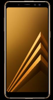 Samsung Galaxy A8 dorado