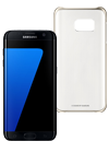 Samsung Galaxy S7 edge 32 GB negro + Funda ClearCover