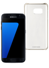 Samsung Galaxy S7 32 GB negro + Funda ClearCover