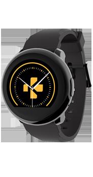 Smartwatch Zeround Mykronoz negro