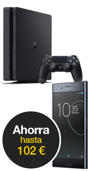 Sony Xperia™ XZ Premium negro marino + PlayStation 4 Slim 500 GB