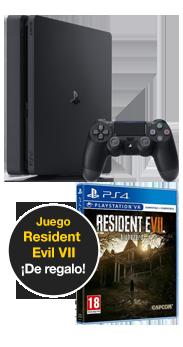 Sony PlayStation 4 1 TB +  Resident evil VII