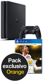 Sony PlayStation 4 Slim 1 TB + FIFA 18 Deluxe Edition