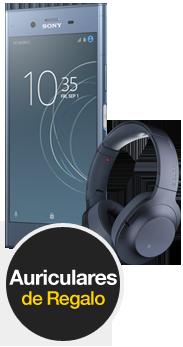 Sony Xperia™ XZ1 azul + Cascos