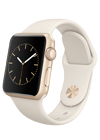 Apple Watch Sport 38 mm oro y blanco