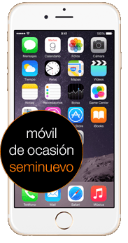 Apple iPhone 6 16 GB oro seminuevo