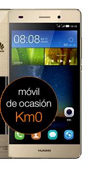 Huawei P8 Lite dorado km0