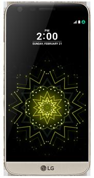 LG G5 dorado