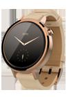 Motorola Moto 360 (Gen 2) mujer dorado