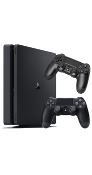 Sony PlayStation 4 Slim 500 GB negro + Mando extra