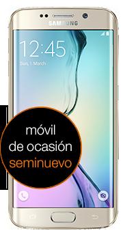 Samsung Galaxy S6 edge 32GB dorado (G925F) seminuevo