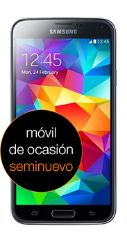 Galaxy S5 (G900F) negro seminuevo