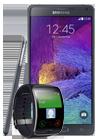 Samsung Galaxy Note 4 (N910F) negro + Samsung Gear S (R750) negro