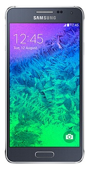 Samsung Galaxy Alpha (G850F) negro