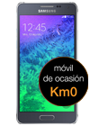 Samsung Galaxy Alpha negro (G850F) Km0