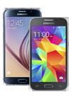 Samsung Galaxy S6 32GB negro (G920F) + Galaxy Core Prime negro (G361F)