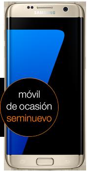 Samsung Galaxy S7 edge 32 GB dorado (G935F) seminuevo