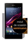 Sony Xperia™ Z1 negro seminuevo