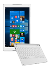 Tablet Alcatel Plus 10 4G plata + teclado