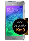Samsung Galaxy Alpha plata (G850F) Km0