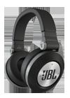 Auriculares JBL E50 BT negro y plata