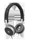 Auriculares JBL T300A negro y plata