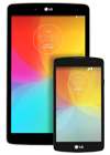 Tablet LG G Pad 8.0 4G (V490) blanco + LG F60 (D390) blanco