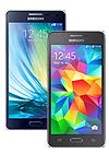 Samsung Galaxy A5 negro (A500) + Galaxy Core Prime negro (G361F)
