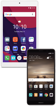 Huawei Mate 9 negro + Tablet Alcatel Pixi 4 (7.0) WiFi blanco
