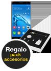 Huawei Nova Plus titanium grey Pack accesorios