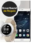 Huawei P9 mystic silver + smartband B0 beige