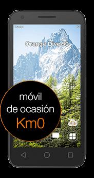 Orange Dive 50 negro Km0