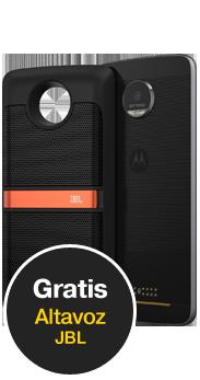 Moto Z Play negro + MotoMod JBL SoundBoost