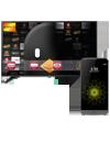 LG G5 titán + televisor 43 Smart TV LH604V negro