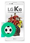 LG K10 blanco